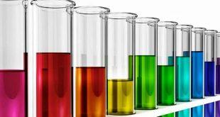 Foodelphi.com lab test tubes colorful